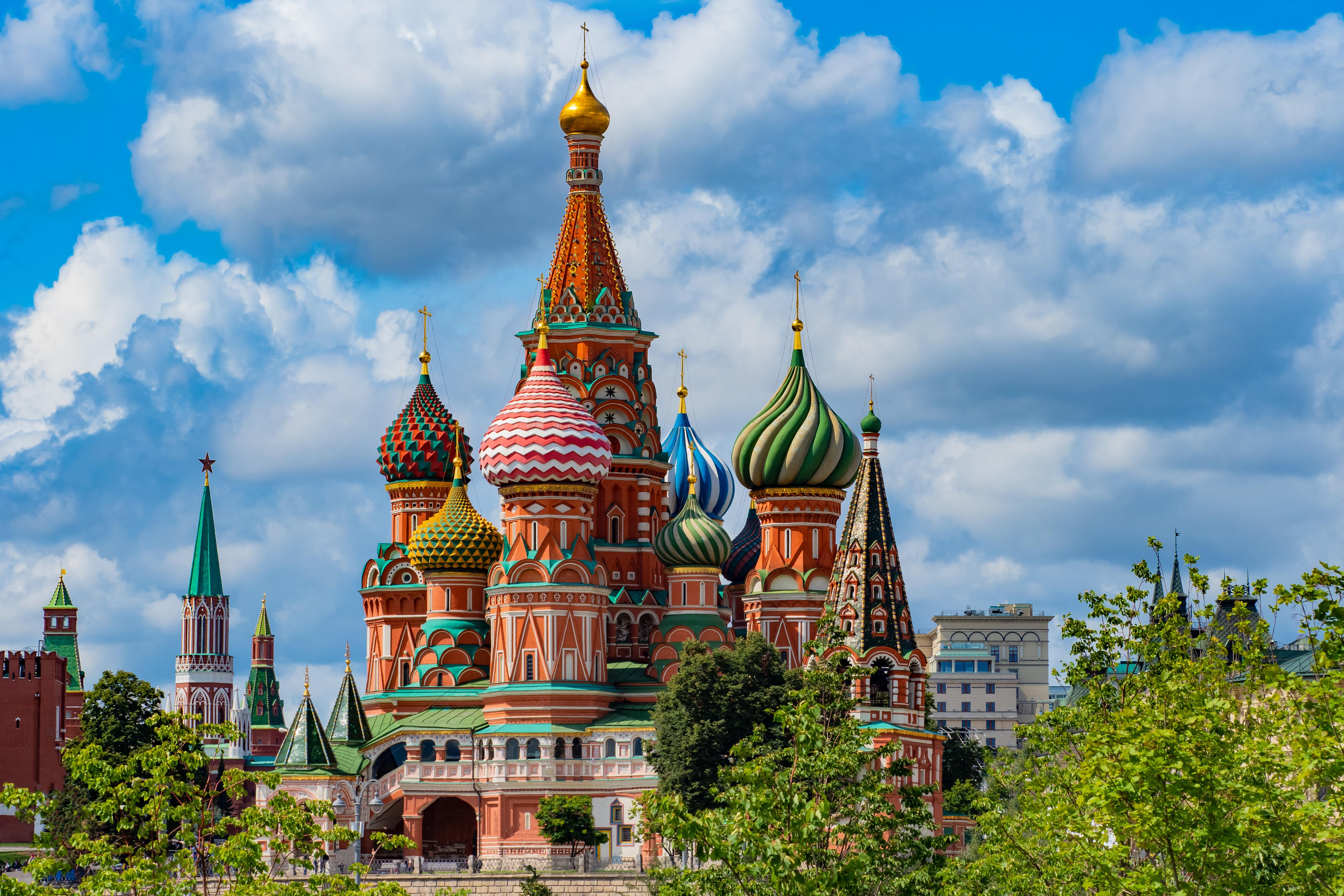 Russland - Von Moskau nach St. Petersburg: Reisebüro